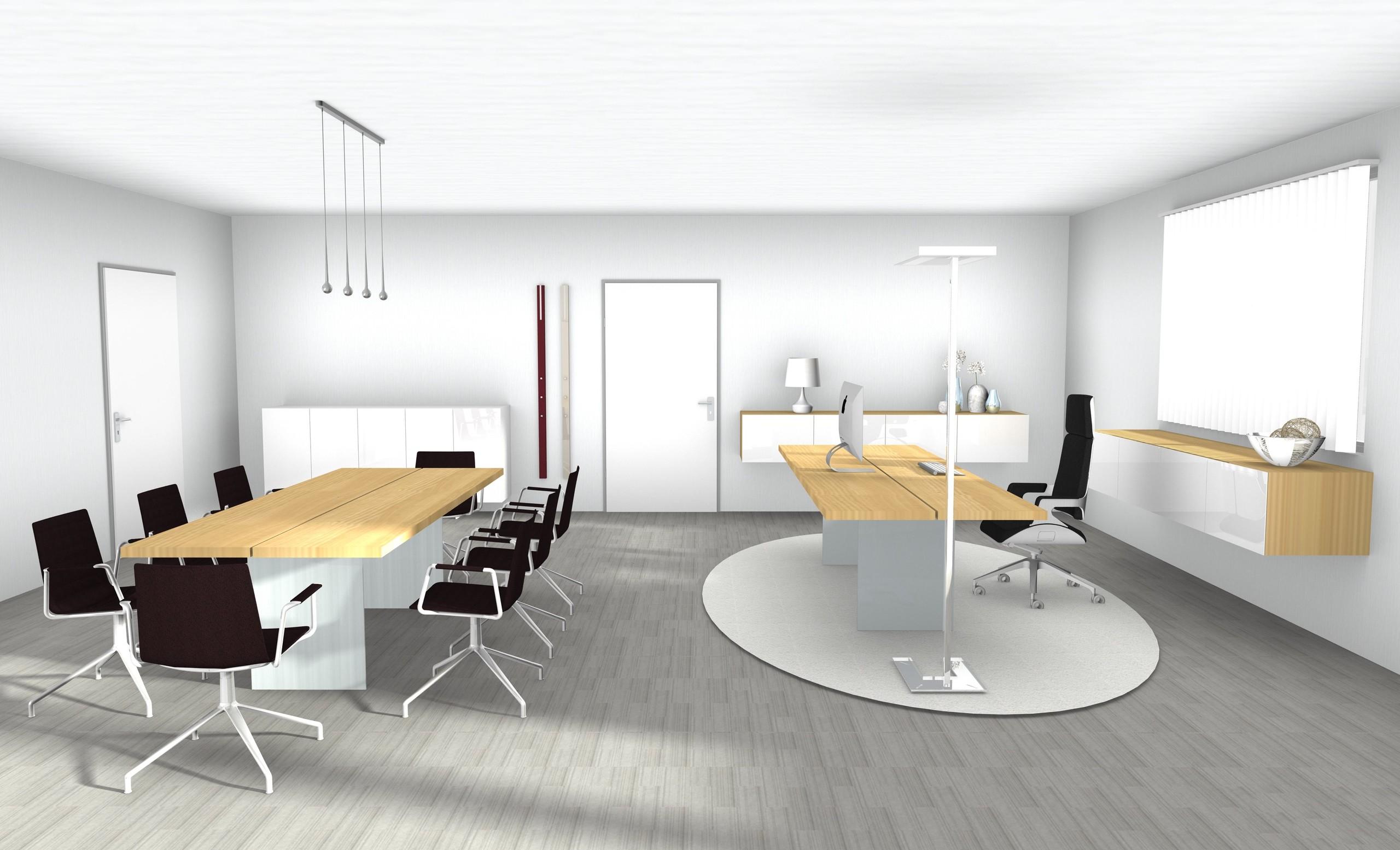 Einzelbüro elegant