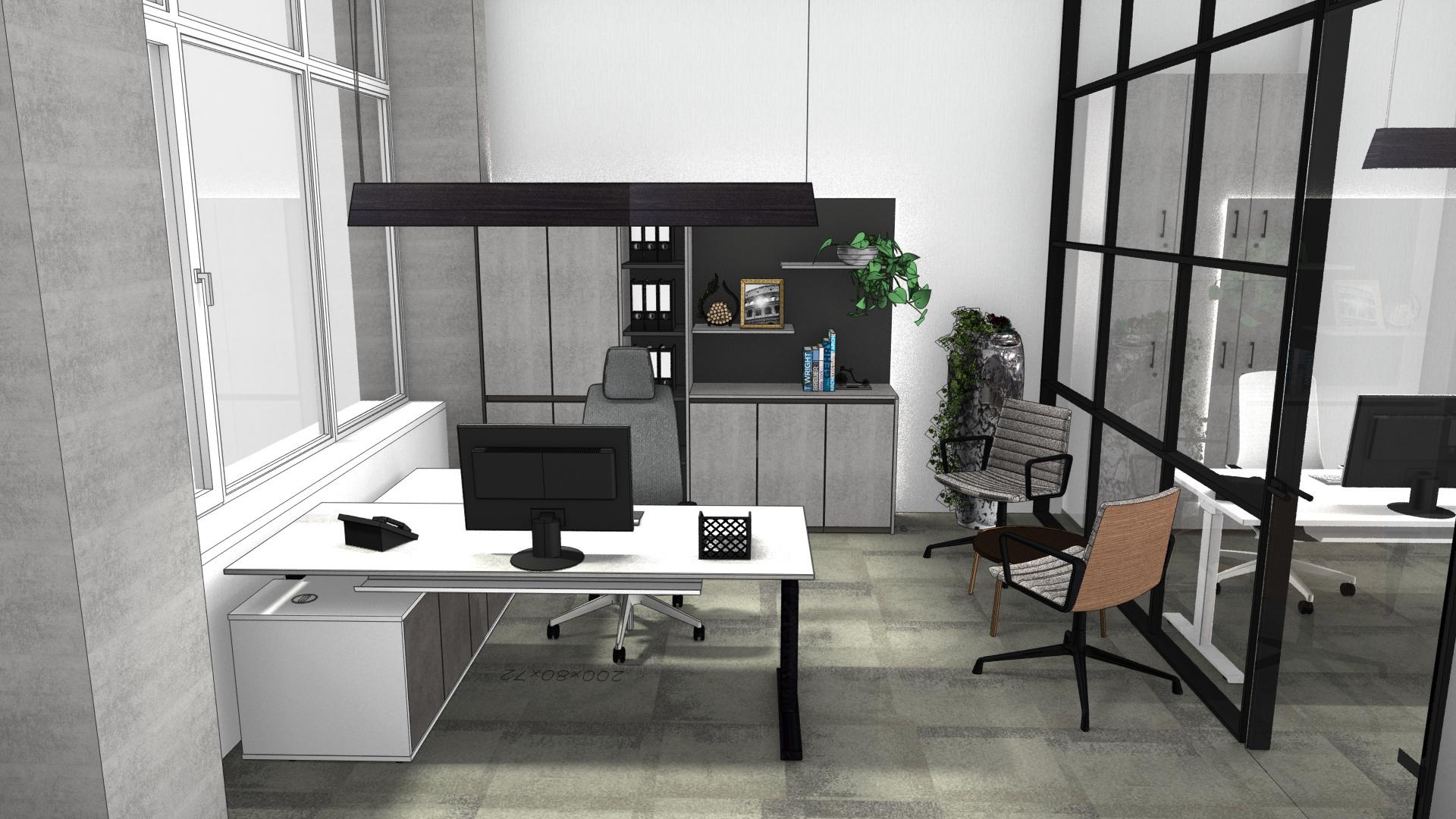 Einzelbüro Loft