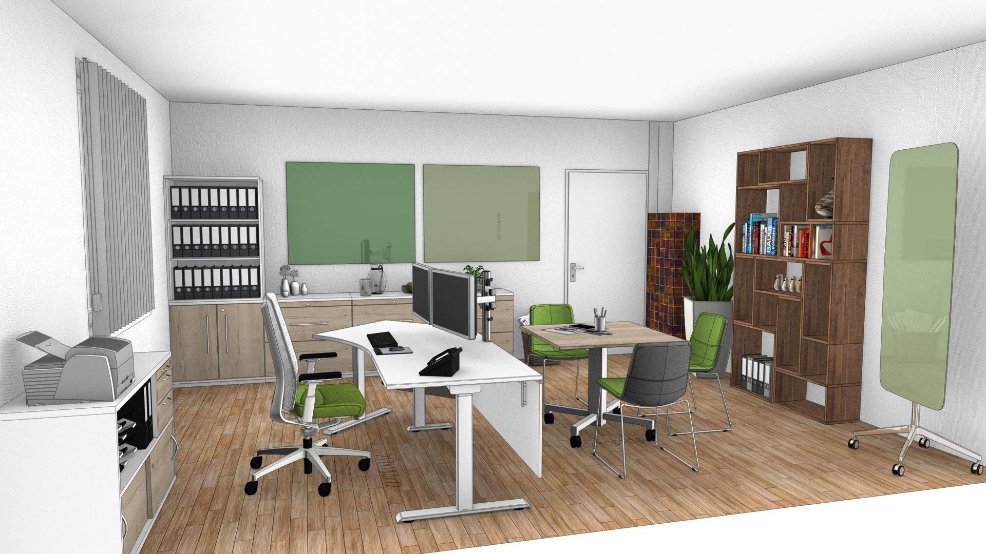 Einzelbüro Altbau Umbau